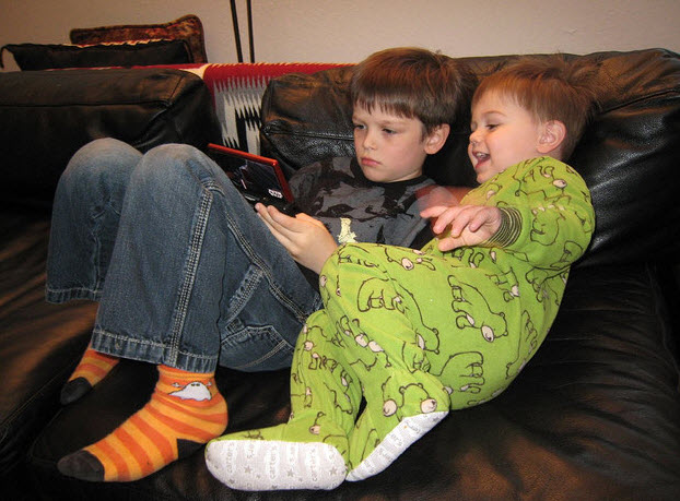 Video game kids