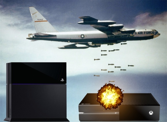 The Xbox One gets bombed