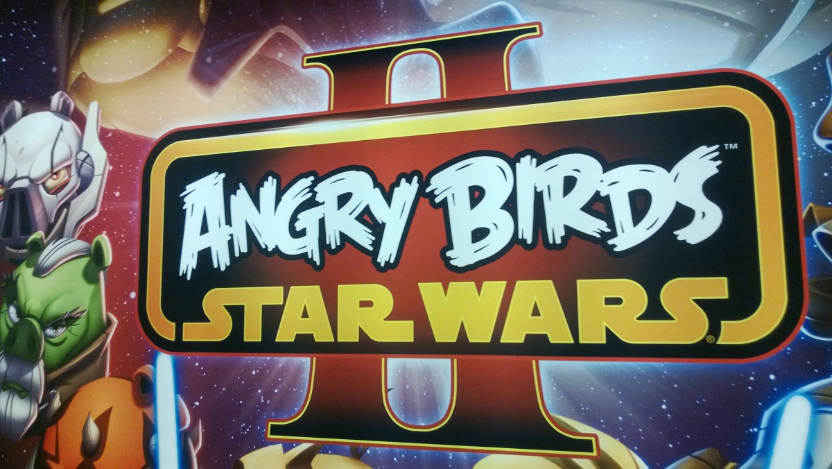 According to Rovio Chief Commercial Officer Alex Lambeek, the success of Angry Birds is due in large part to cross-overs, like the above Angry Birds Star Wars 2.