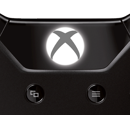 Xbox One controller - Guide button