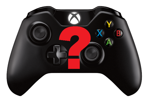 Xbox One controller - question mark