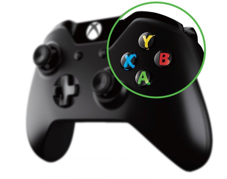 The Xbox One controlle...