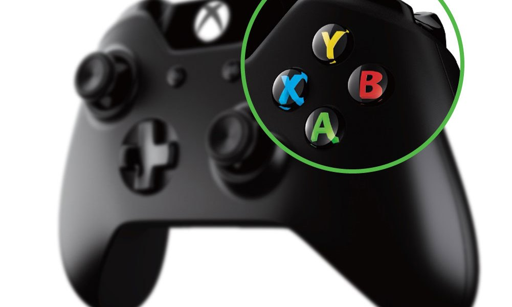 Xbox One controller - buttons, triggers