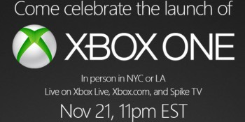 Where to watch the Xbox One launch