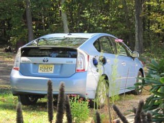 2012 Toyota Prius Plug-In Hybrid.
