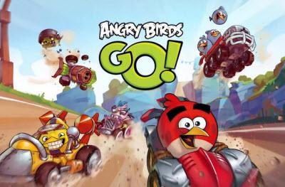 Angry Birds Go race scene