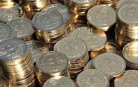 Stacks of Bitcoin