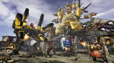 """Borderlands 2 upped the ante from the first game with a """"bazillion"""" guns."""