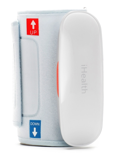 This iHealth cuff is being modified by a team of cardiologists