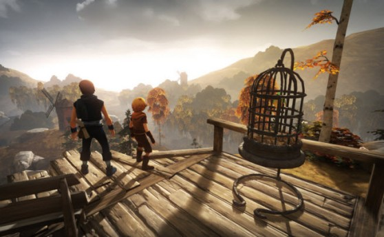 Brothers: A Tale of Two Sons is a moving title with no dialogue.