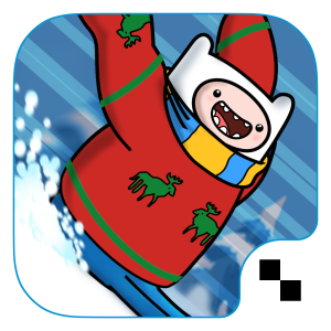 Ride the slopes on your but in Ski Safari: Adventure Time for iOS and Android.