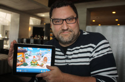 Chris Heatherly of Disney's Club Penguin.