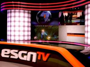 The ESGN TV studio.