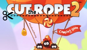 Cut the Rope 2 debuts Dec. 19.
