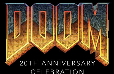 Doom 20th anniversary celebration invite.