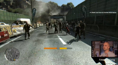 A crowd of zombies in Dying Light
