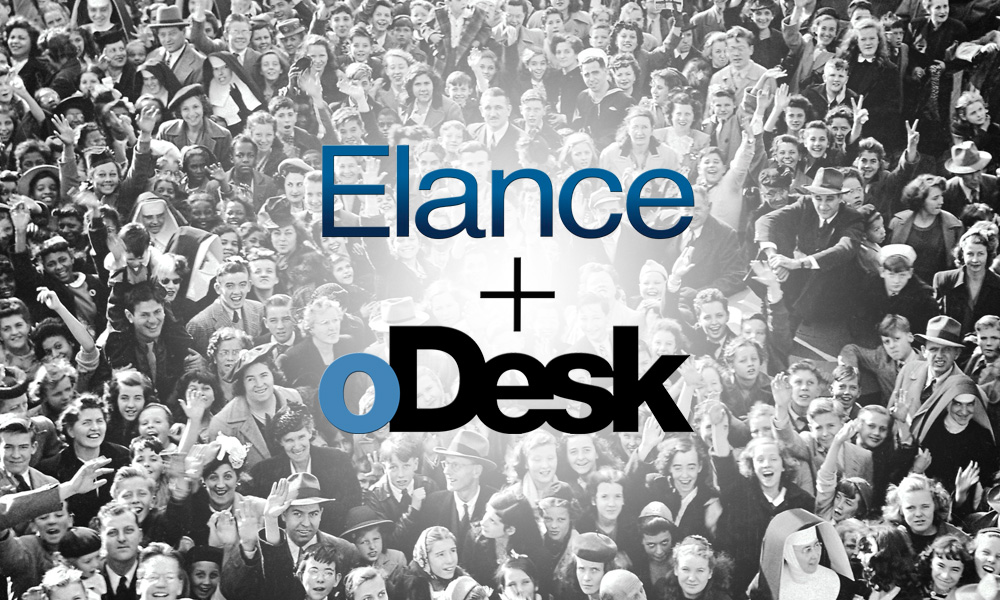 Elance oDesk merger