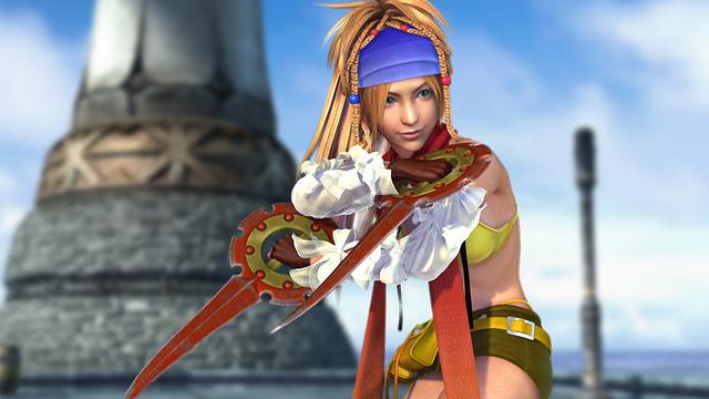 A screenshot from Final Fantasy X|X-2 HD Remaster.