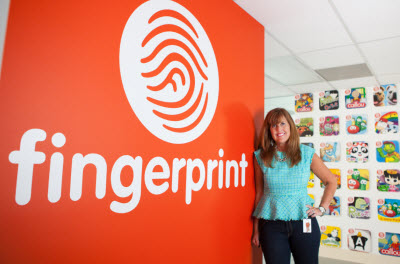 Fingerprint CEO Nancy MacIntyre