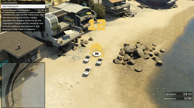 GTA Online lets you set up a battle spawn point anywhere.