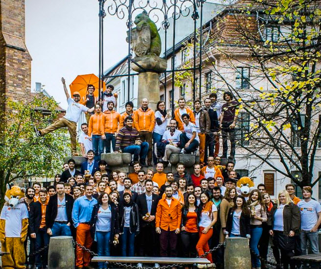 Hitfox Group staff in Berlin
