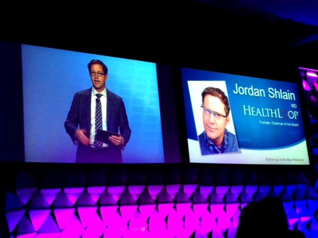 HealthLoop founder Dr. Jordan Shlain at a health conference