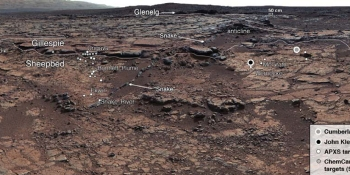 'Very Earth-like' Martian lake found by Curiosity could have supported life