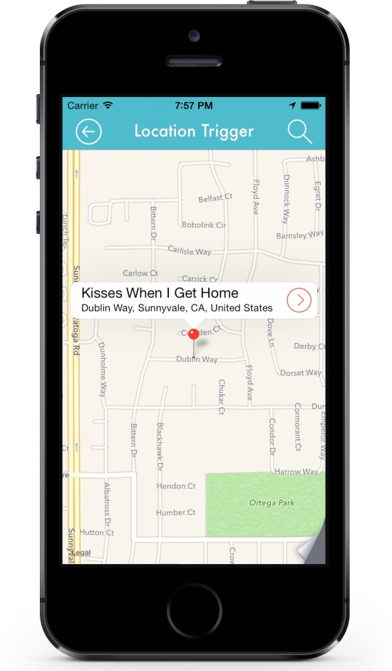 lifttt iphone app