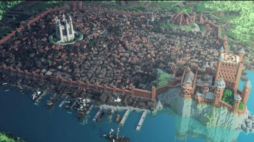 Welcome to King's Landing. All of it.