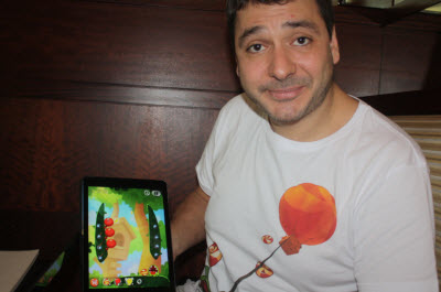 Misha Lyalin of Zeptolab shows Cut the Rope 2.