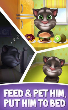 Outfit 7's My Talking Tom.