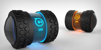 Orbotix rolls out its next robotic toy: the Sphero 2B, which resembles a rolling dumbbell