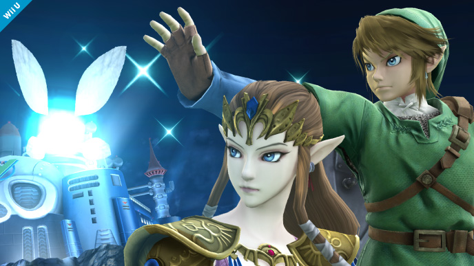 Princess Zelda Smash Bros.