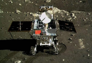 China's yoto rover took a handful of pictures