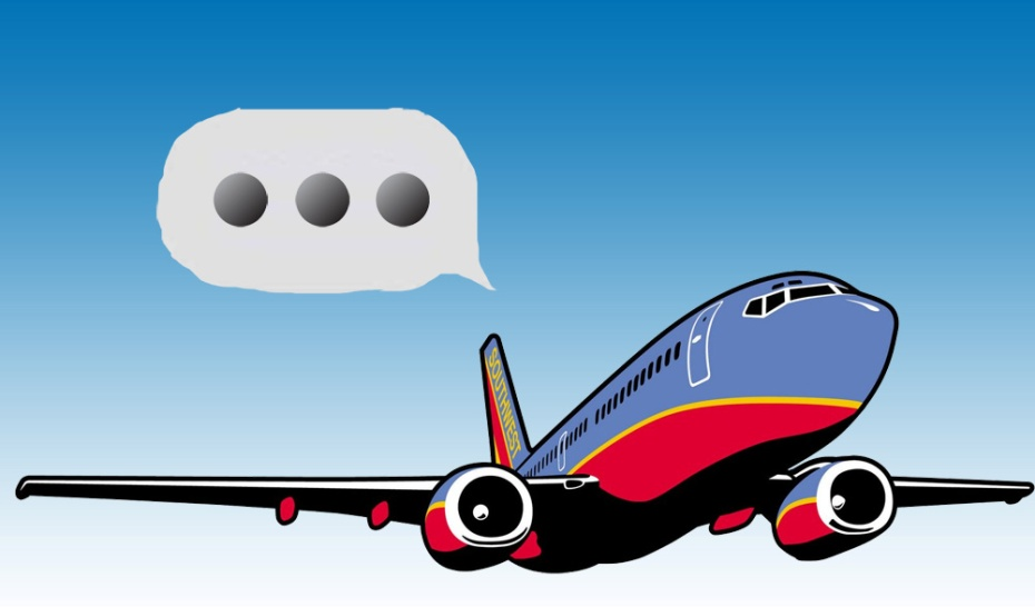 Southwest passengers can now use iMessage in-flight.