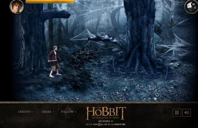 The Hobbit: The Desolation of Smaug – Spiders of Mirkwood