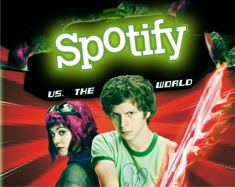 Spotify vs everyone