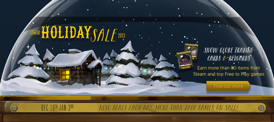 Best of the 2013 Winter Sales from Steam, Amazon, GMG, and GameFly