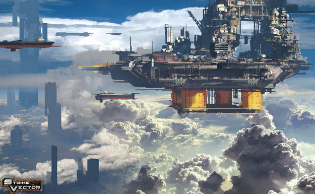 Strike Vector is an indie game made in 10 months by four developers.