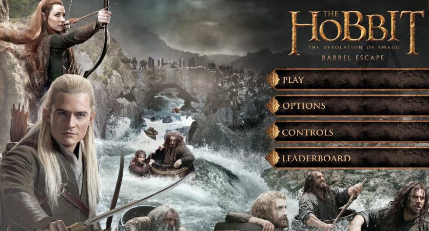 The Hobbit: The Desolation of Smaug -- Barrel Escape.