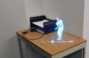 Vuzix can display augmented reality images.