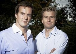 TransferWise cofounders  Taavet Hinrikus and Kristo Käärmann
