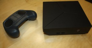 Alienware's box measures 8 inches by 8 inches by 3 inches.