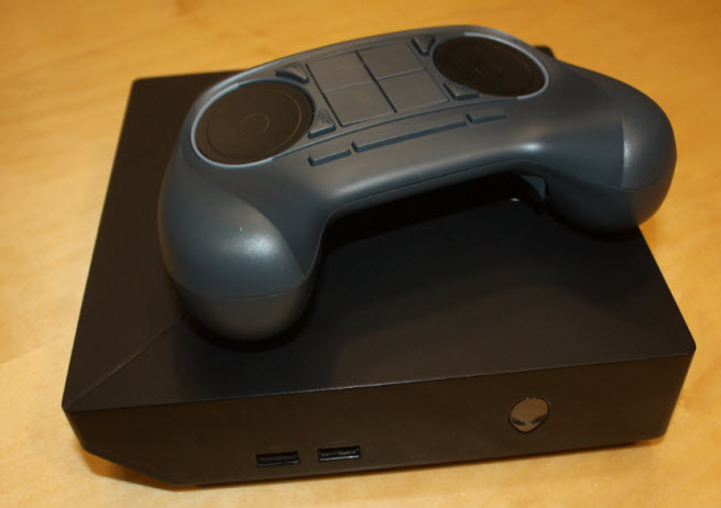 Alienware's mock-up of a Steam Machine