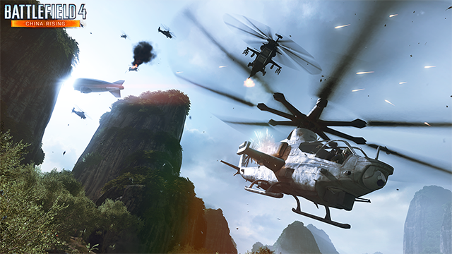 battlefield 4 air superiority giulin peaks