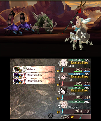 Combat in Bravely Default is more complex and interesting than in many other JRPGs.