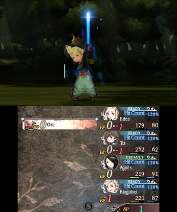Bravely Default screenshot