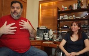 Rick Johnson and Jeri Ellsworth of Technical Illusions, creator of CastAR
