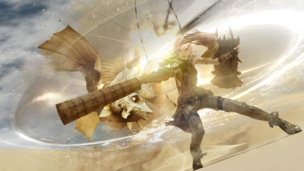 A screenshot from Lightning Returns: Final Fantasy XIII (2014, PS3/X360)