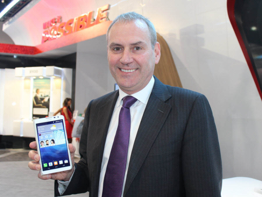 Colin Giles, executive vice president of China's Huawei